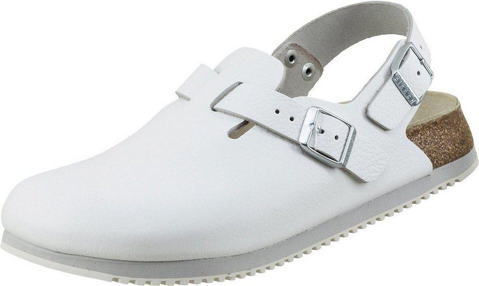 Birkenstock Clogs in weiß
