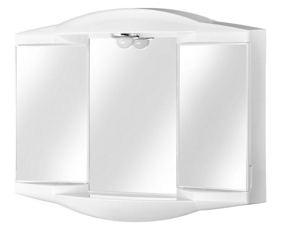 Spiegelschrank »Chico GL« Breite 62 cm, mit Beleuchtung in weiß