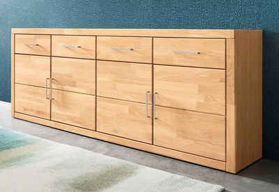finebuy sideboard 1 schublade 2 t ren 60 cm breit 75 cm hoch 30 cm tief kommode anrichte aus. Black Bedroom Furniture Sets. Home Design Ideas