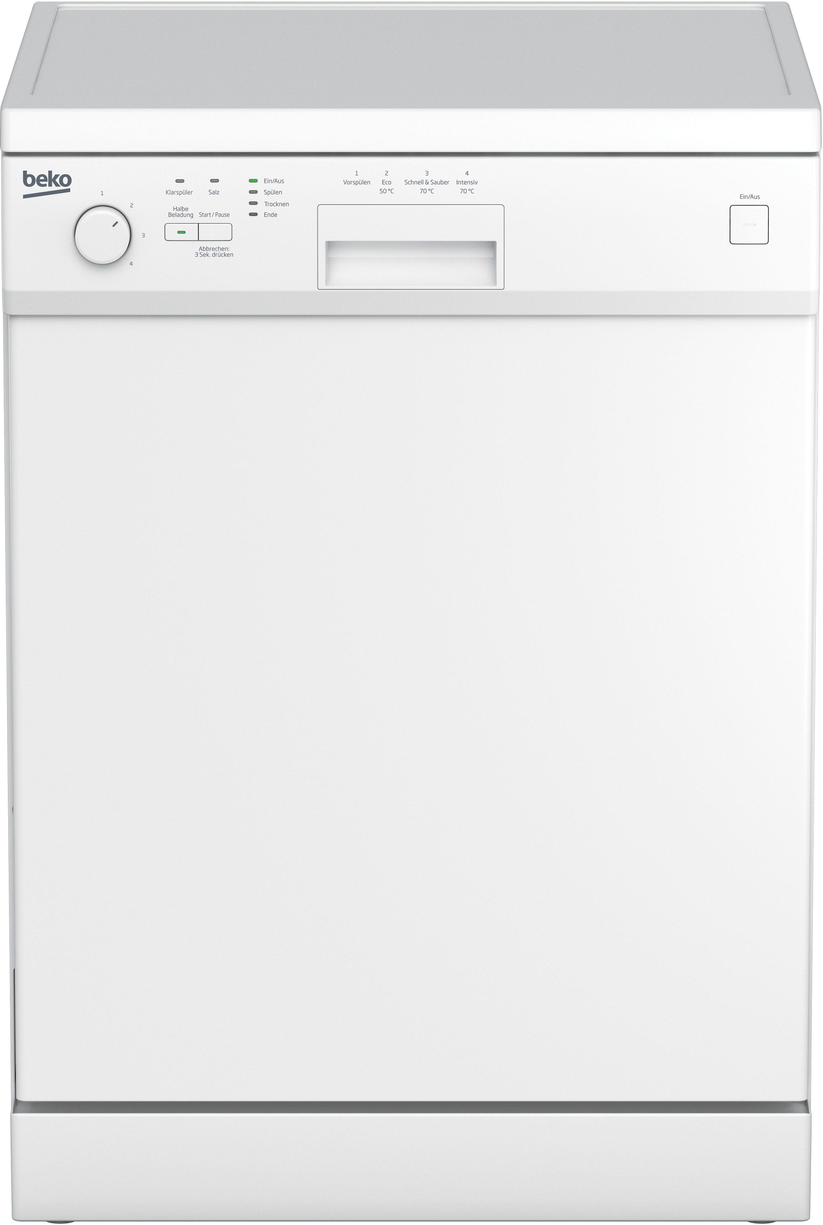 Beko Geschirrspüler DFL 1441, A+, 14 Liter, 12 Maßgedecke