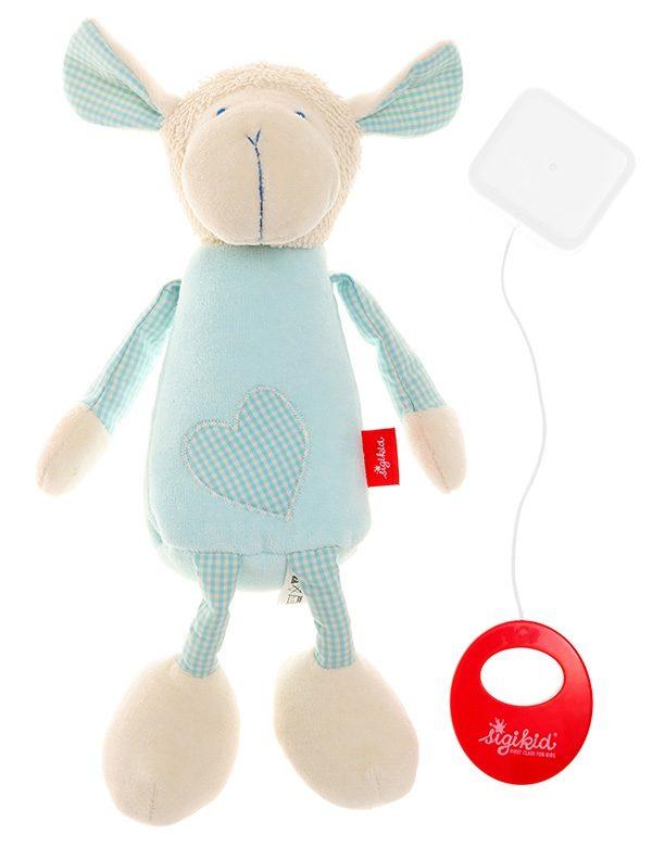 sigikid® Spieluhr blau, »Organic Schaf - sigikid first hug«