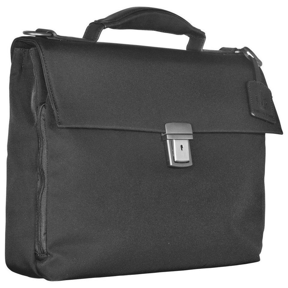 Leonhard Heyden Soho Briefcase Aktentasche 40 cm in black