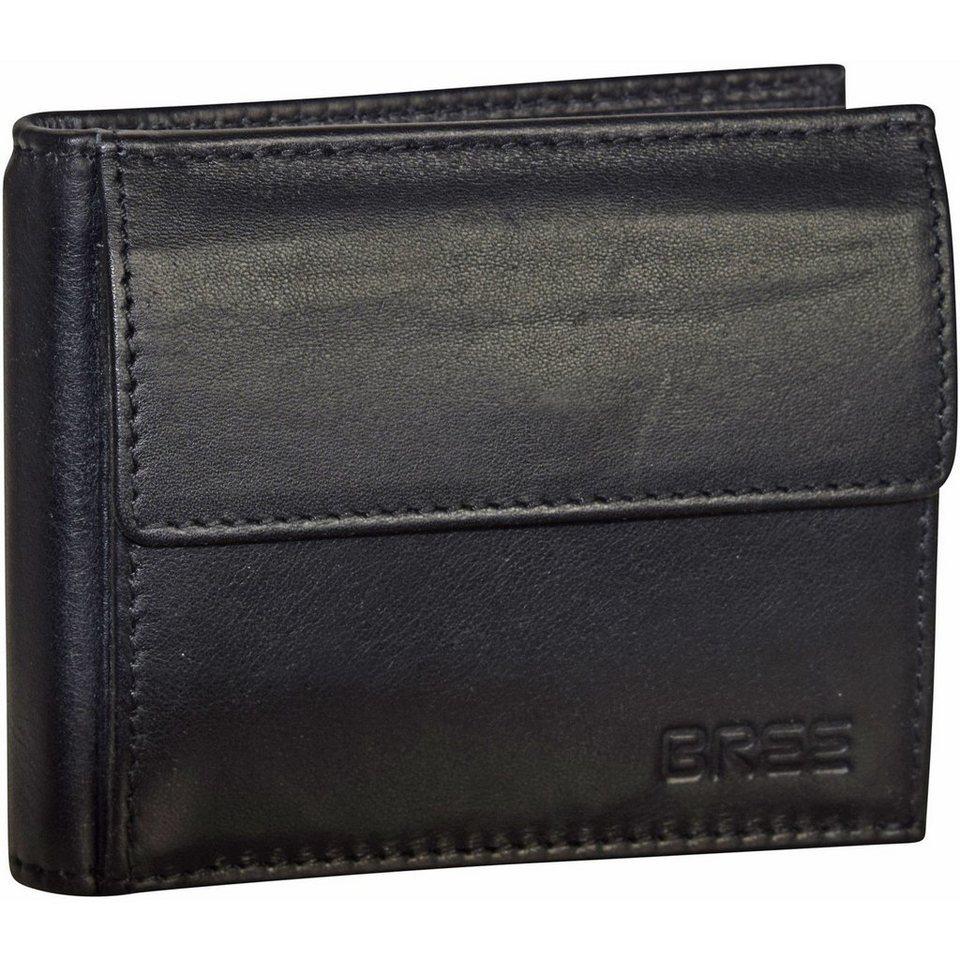 Bree Bree Pocket 106 Geldbörse Leder 10 cm in black soft