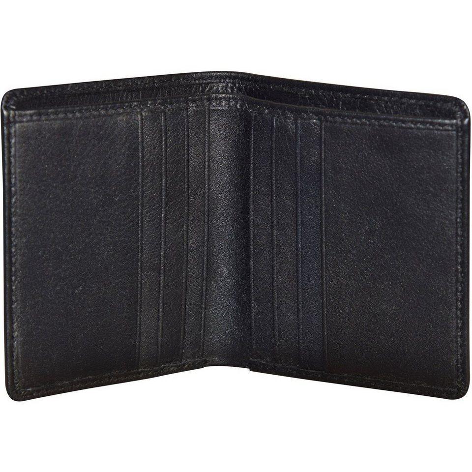 Bree Pocket 103 Kartenetui Leder 10 cm in black soft