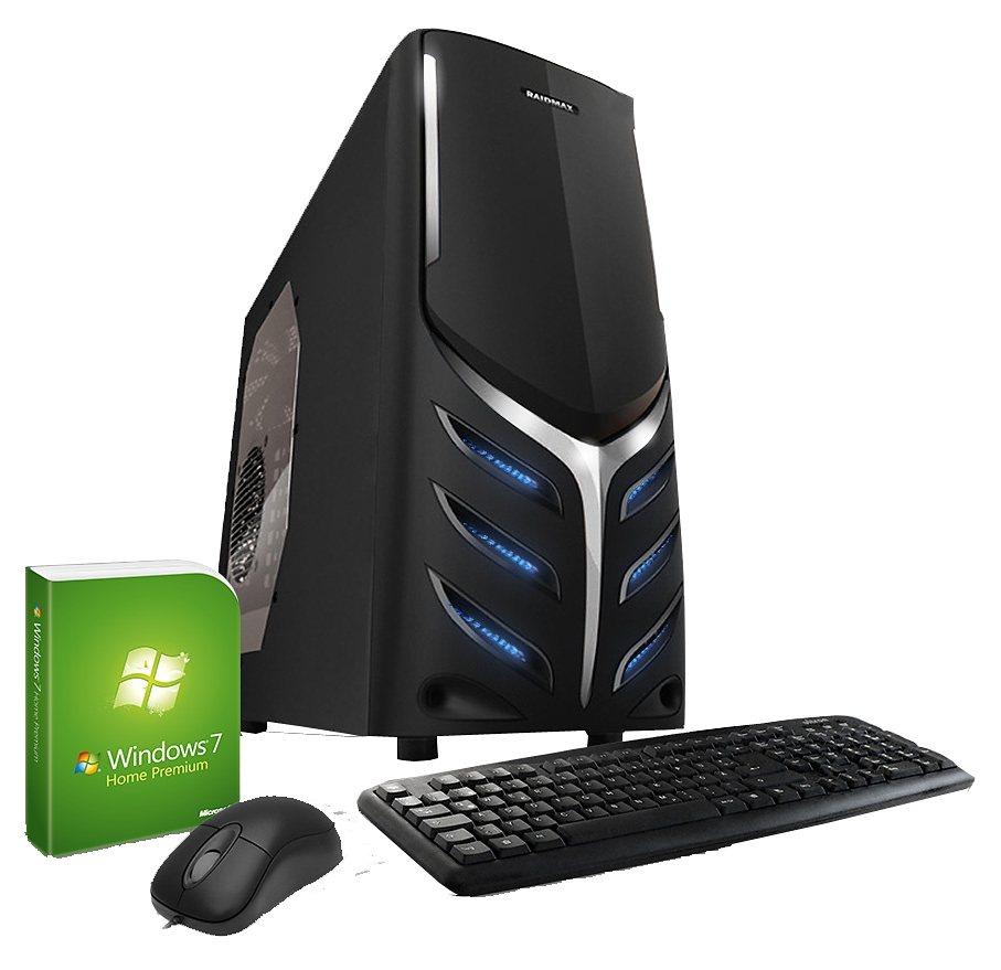 VCM Radeon R5 Graphics (FullHD 1080p) / 8 GB RAM / Windows 7 in schwarz / silbern