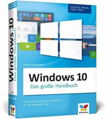 Broschiertes Buch »Windows 10 - Das große Handbuch«