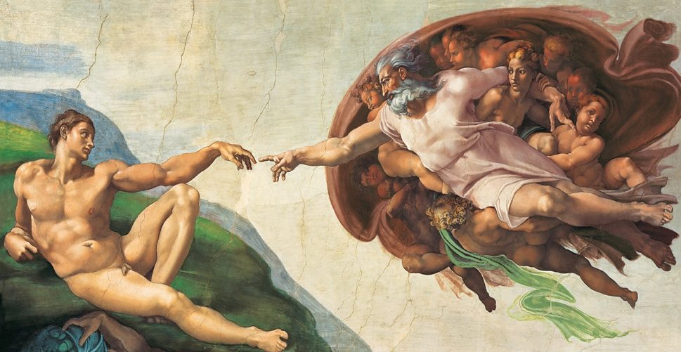 Clementoni Puzzle, 13200 Teile, »Michelangelo, Erschaffung Adams«