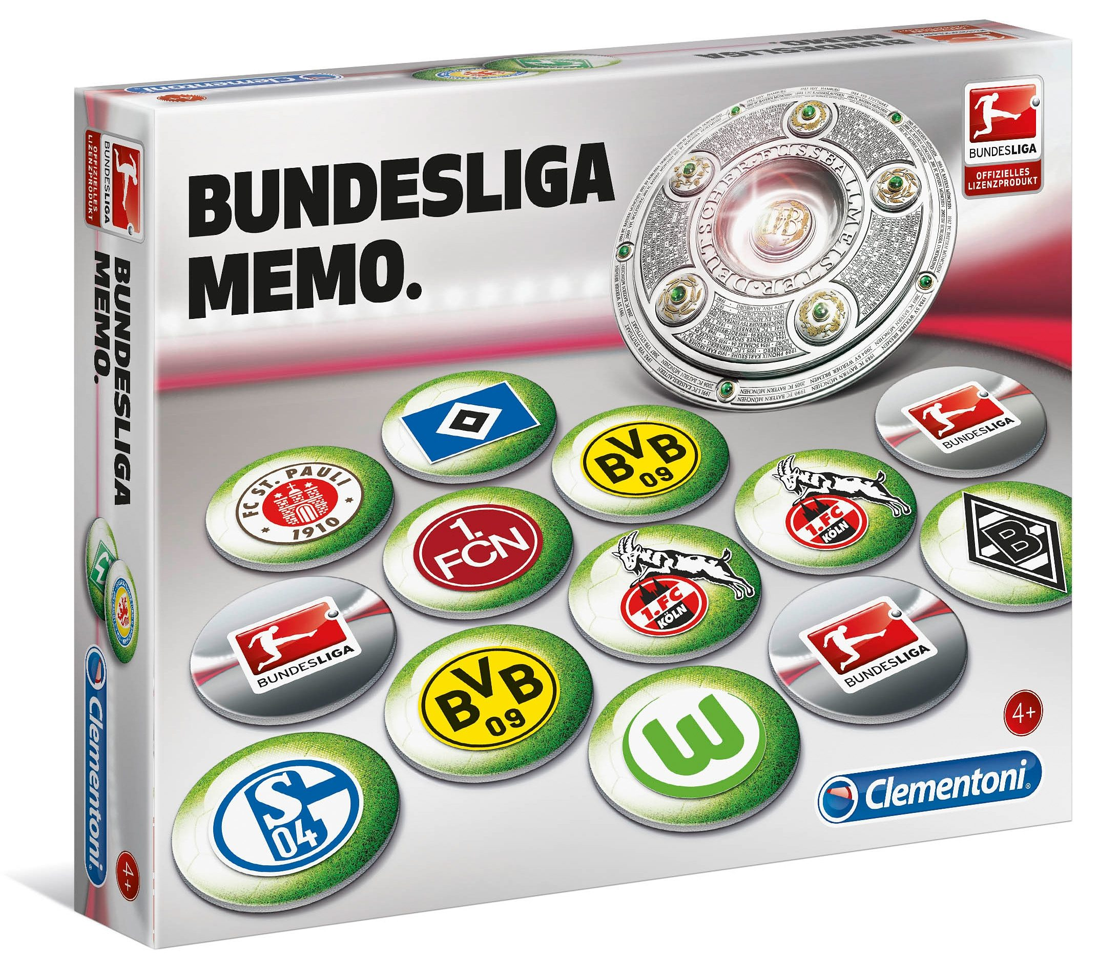 Clementoni Memo, »Memo Deluxe Bundesliga«