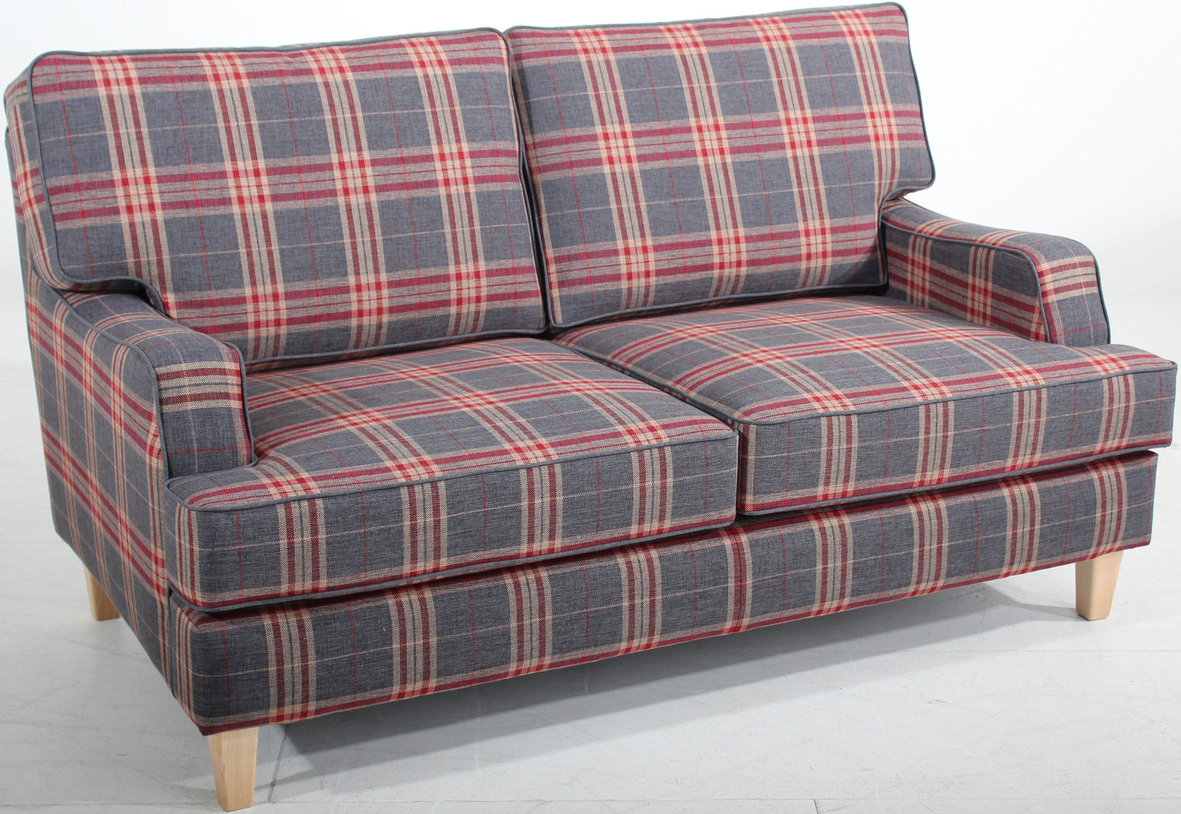 Max Winzer® 2-Sitzer Sofa »Penny«, in stylischem Karodesign