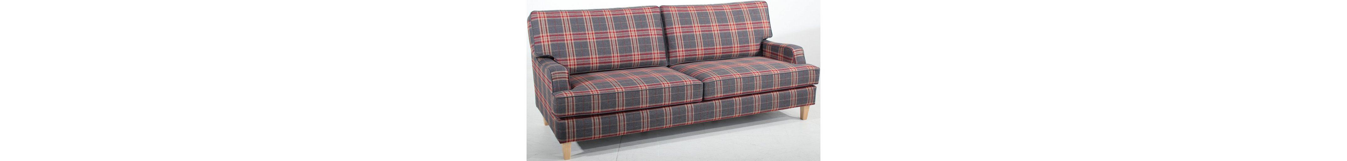 Max Winzer® 3-Sitzer Sofa »Penny«, in stylischem Karodesign