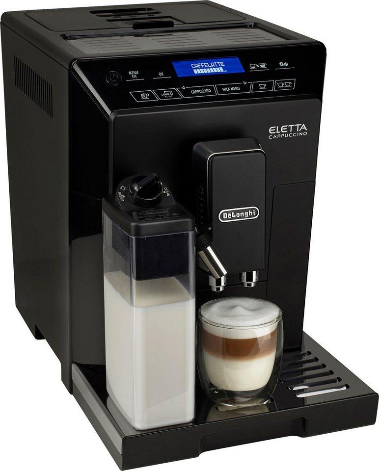 De'Longhi Kaffeevollautomat »ECAM 44.666.B«, Milchbehälter, Hochglanz-Schwarz / Edelstahl in Hochglanz-Schwarz / Edelstahl