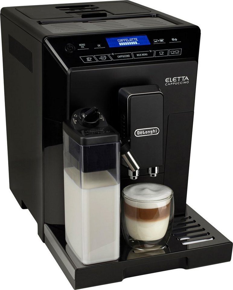 delonghi kaffeevollautomat ecam 1 9l tank kegelmahlwerk online kaufen otto. Black Bedroom Furniture Sets. Home Design Ideas