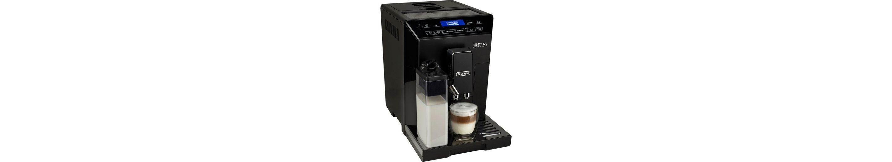 De'Longhi Kaffeevollautomat »ECAM 44.666.B«, Milchbehälter, Hochglanz-Schwarz / Edelstahl