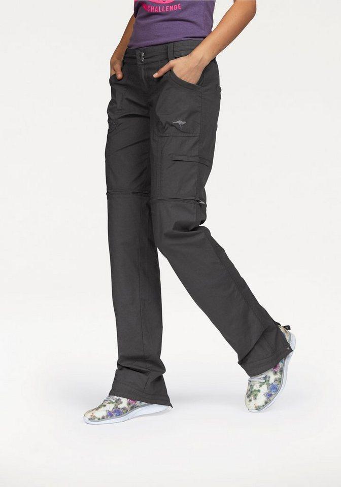 KangaROOS Funktionshose mit abnehmbaren Beinen in anthrazit