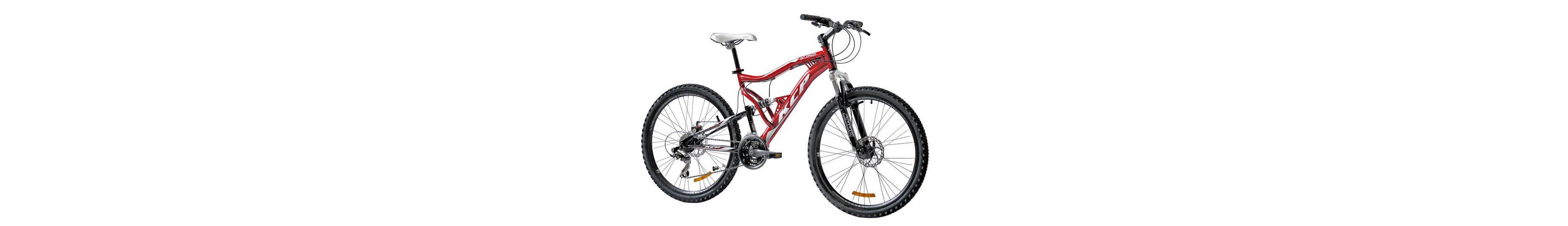 Mountainbike »Attack«, 26 Zoll, 21 Gang, Scheibenbremsen