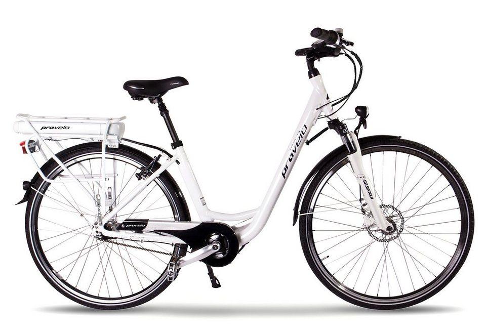 provelo by sportplus e bike nex 728 l 7 gang shimano. Black Bedroom Furniture Sets. Home Design Ideas