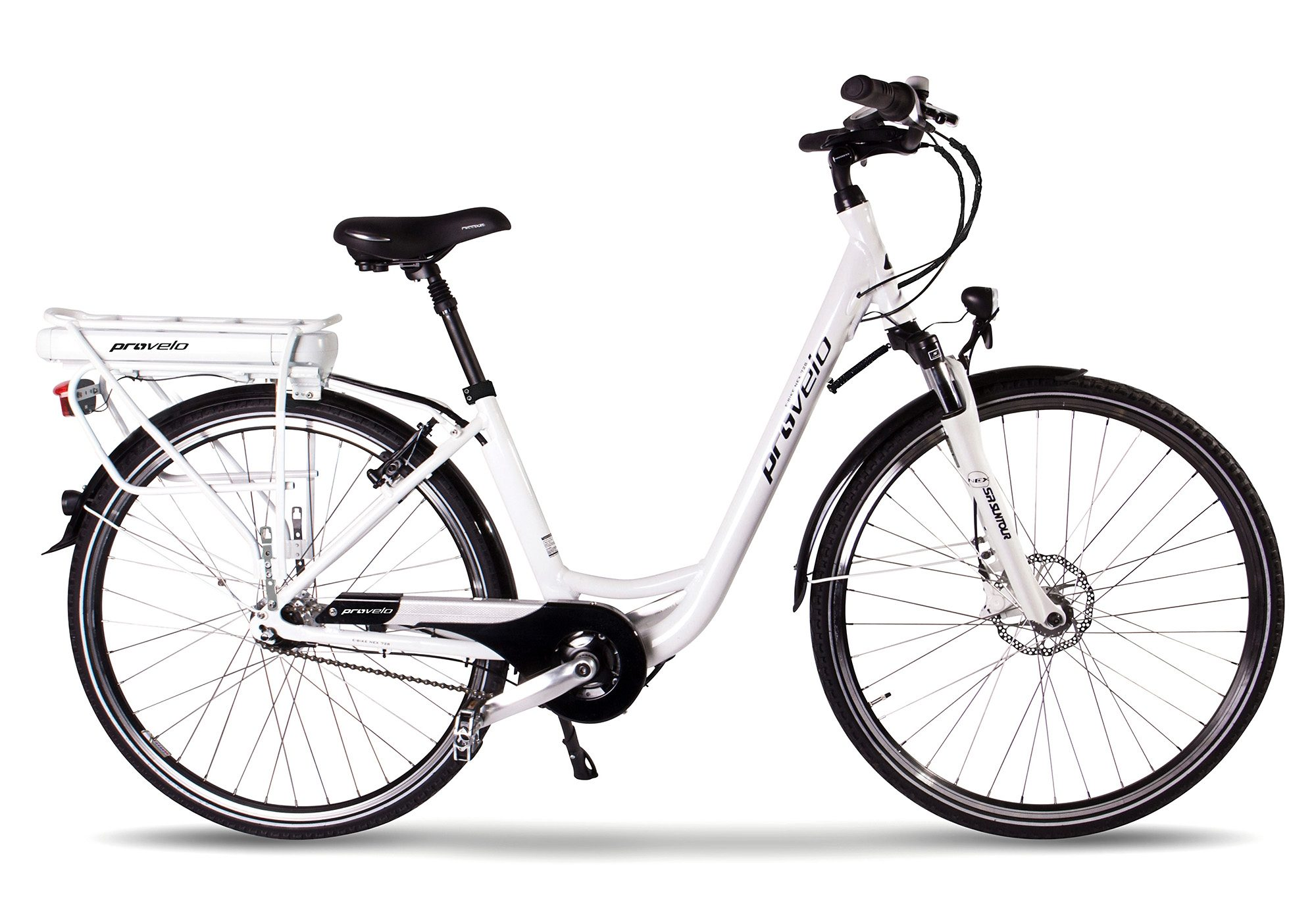 E Bike City Damen, ProVelo by SportPlus, 28 Zoll, 7 Gang Shimano Nabenschaltung, »NEX 728 L«