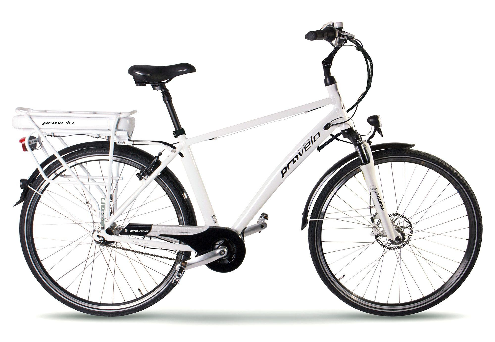 E Bike City Herren, ProVelo by SportPlus, 28 Zoll, 7 Gang Shimano Nabenschaltung, »NEX 728 M«