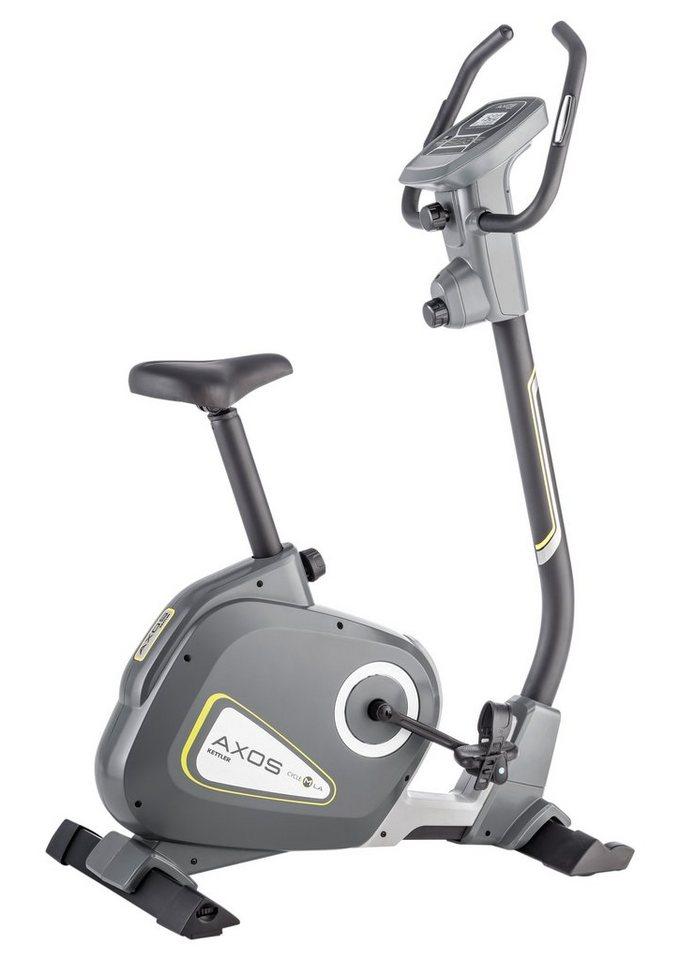 Kettler Heimtrainer, »Axos Cycle M-LA« in schwarz-anthrazit