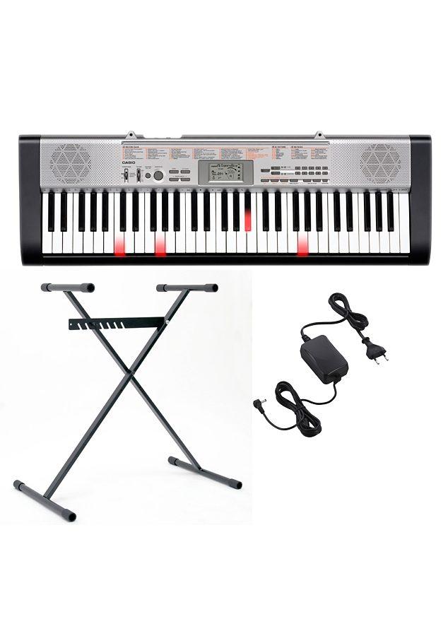 Casio® Leuchttasten Keyboard inkl. Ständer und Netzteil, »LK 130«