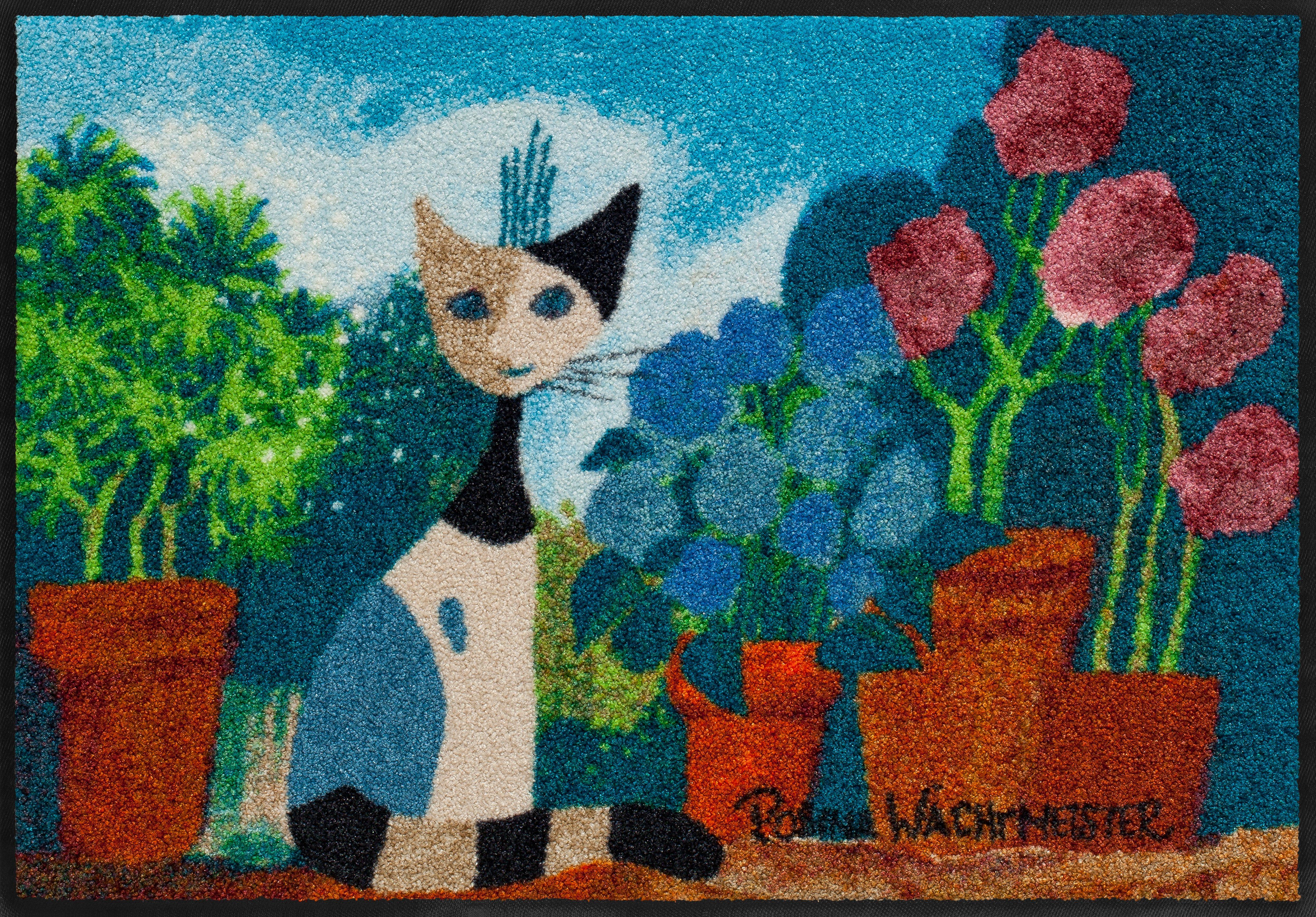 Fußmatte, Rosina Wachtmeister »Secret Garden«, waschbar, In- und Outdoor geeignet