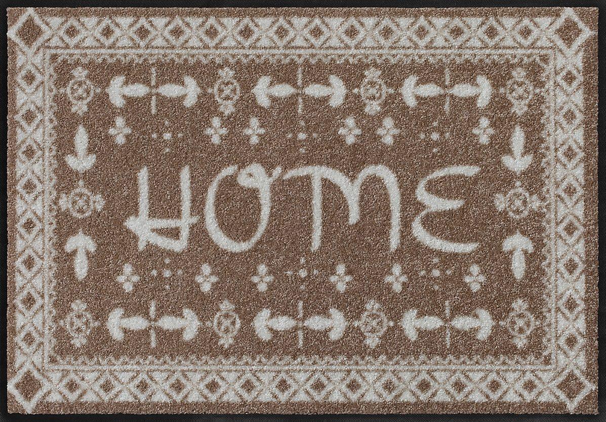 Fußmatte, Salonloewe, »Bright Home« by Wachtmeister Lifestyle, waschbar, In- und Outdoor geeignet