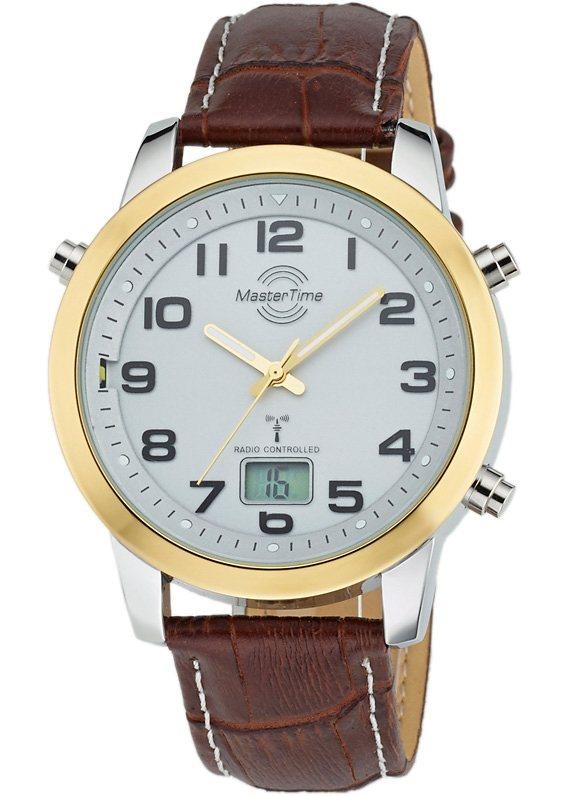 "Master Time, Funkarmbanduhr, ""MTGA-10462-12L"" in braun"