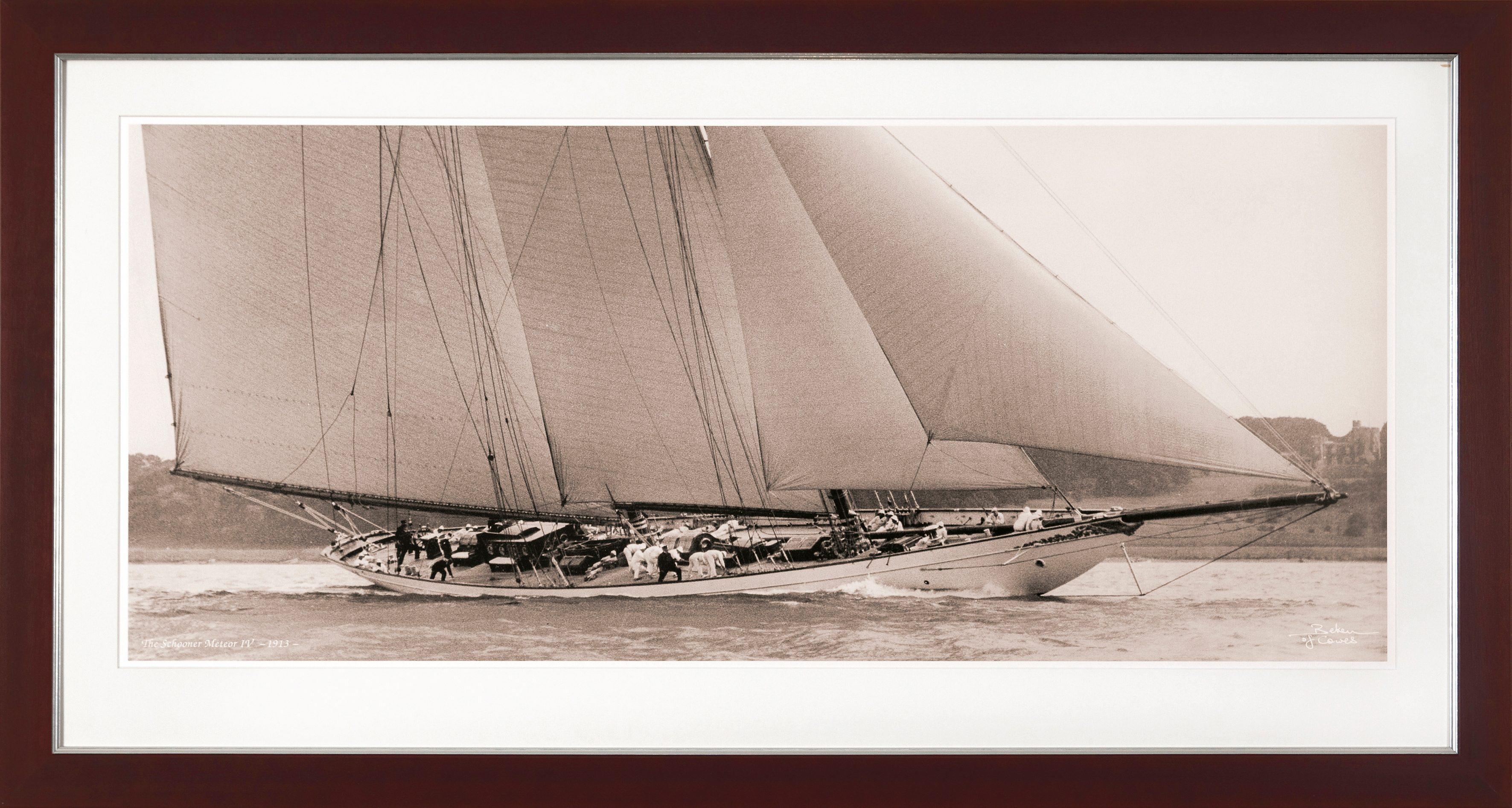 G&C gerahmter Kunstdruck »SHIPS Motiv 4«, 31/56 cm
