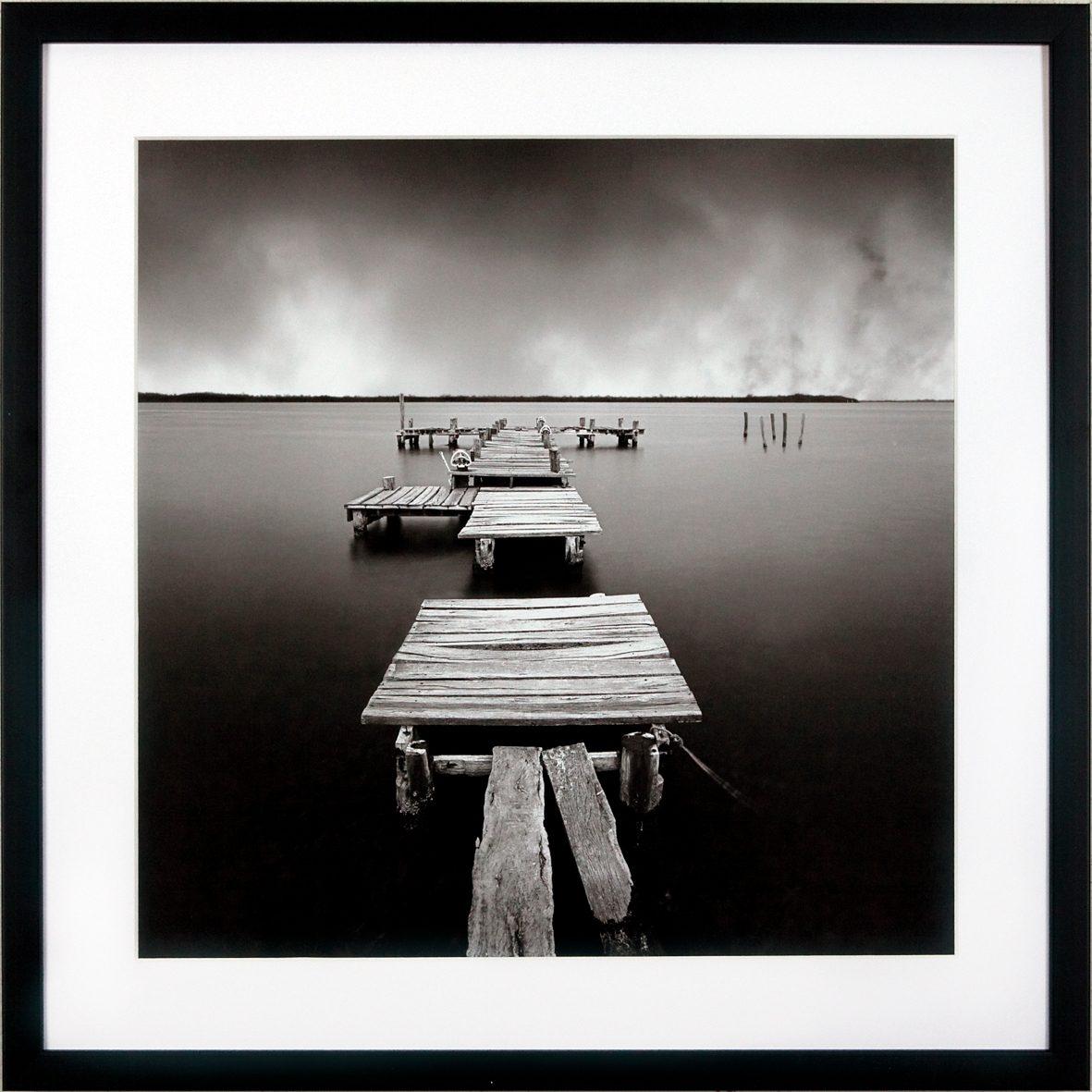G&C gerahmter Kunstdruck »Levy: Beach Motiv 3« , 50/50 cm