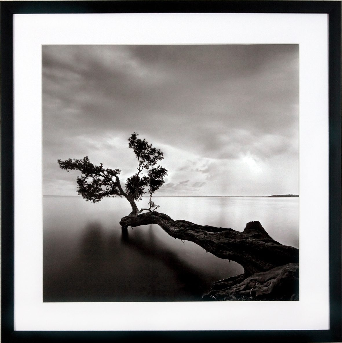 G&C gerahmter Kunstdruck »Levy: Beach Motiv 4«, 50/50 cm