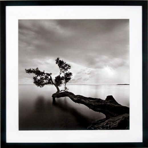 G&C Kunstdruck »Levy: Beach Motiv 4«, Landschaft, 50/50 cm, gerahmt
