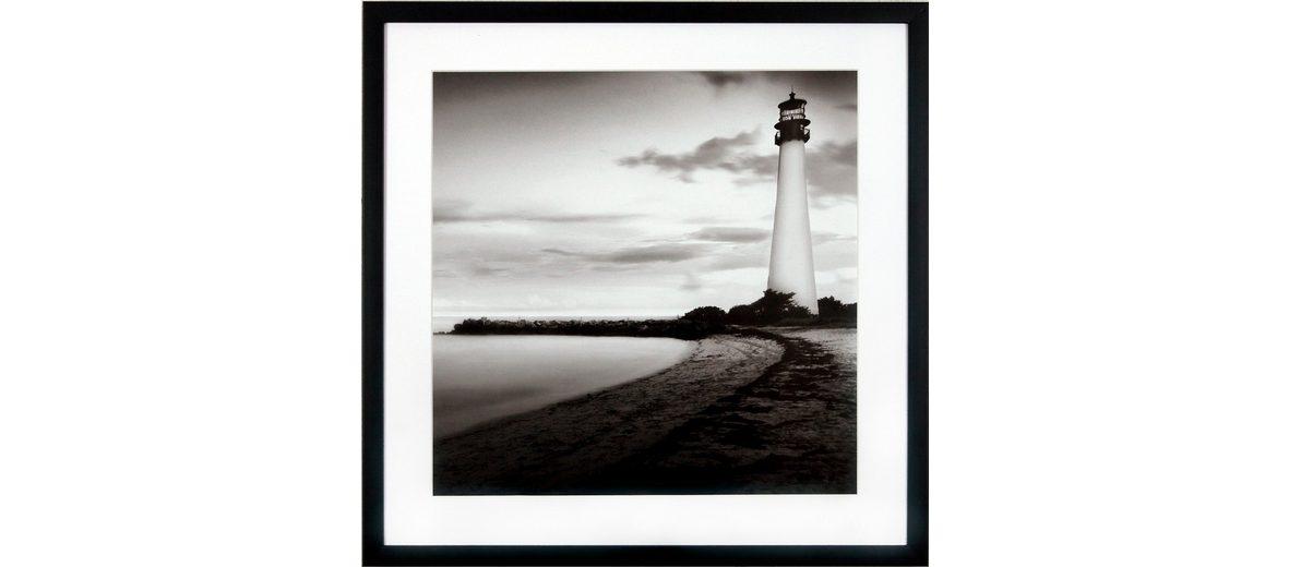 G&C gerahmter Kunstdruck »Levy: Beach Motiv 1«, 50/50 cm