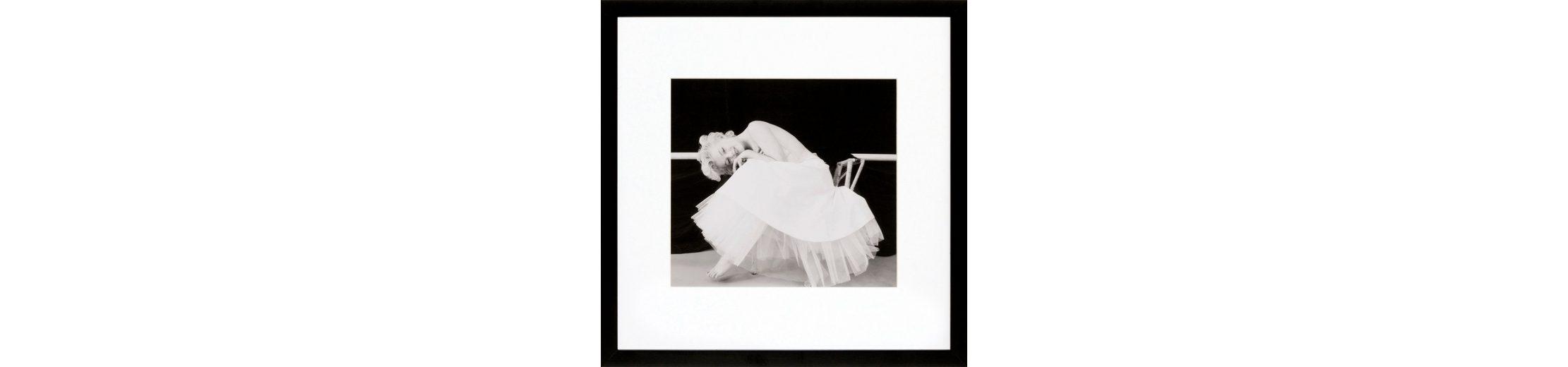 G&C gerahmte Fotografie »Marilyn Monroe Motiv 2«, 40/40 cm