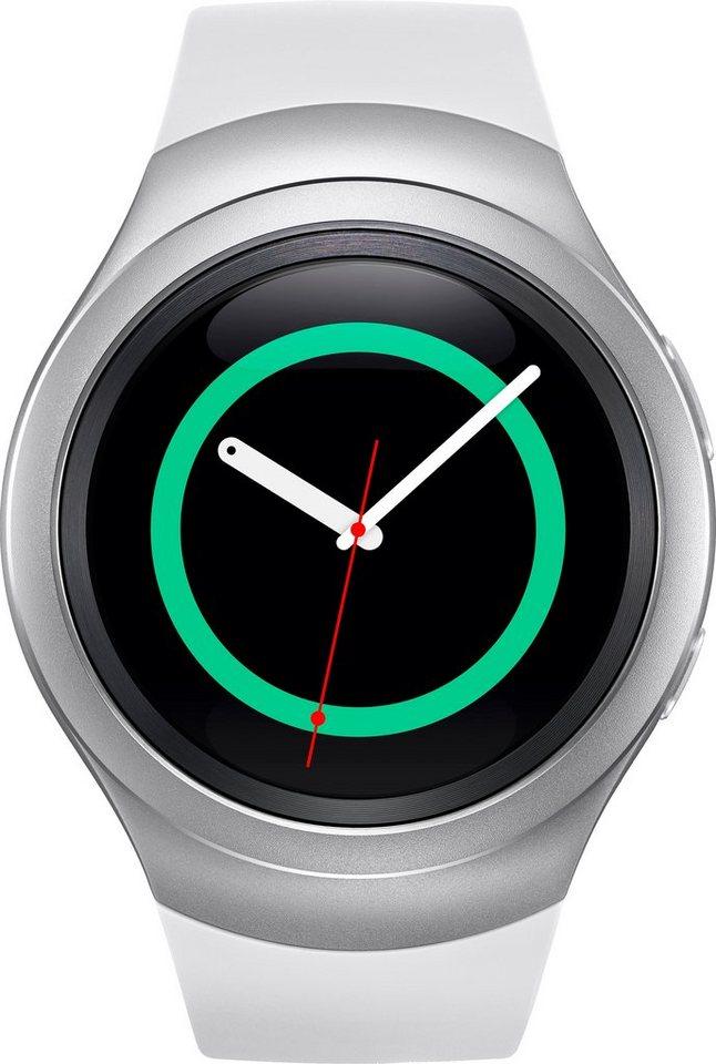 Samsung Gear S2 Smartwatch, Tizen, 3,05 cm (1,2 Zoll) Super AMOLED-Touchscreen Display in Weiß