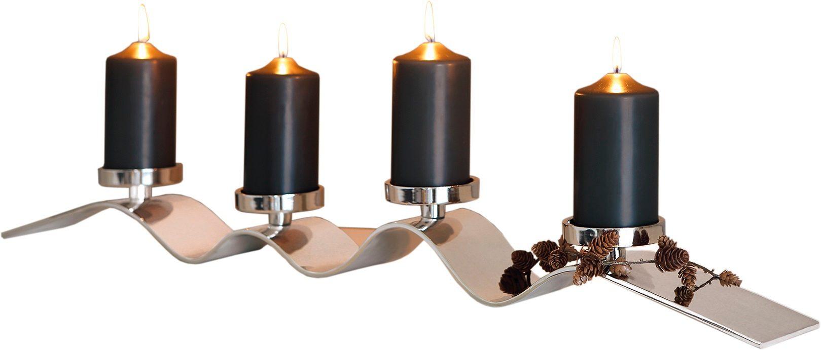 Fink Kerzenständer »WAVE«