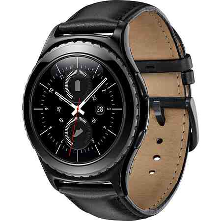 Samsung Gear S2 Classic Smartwatch, Tizen, 3,05 cm (1,2 Zoll) Super AMOLED-Touchscreen Display
