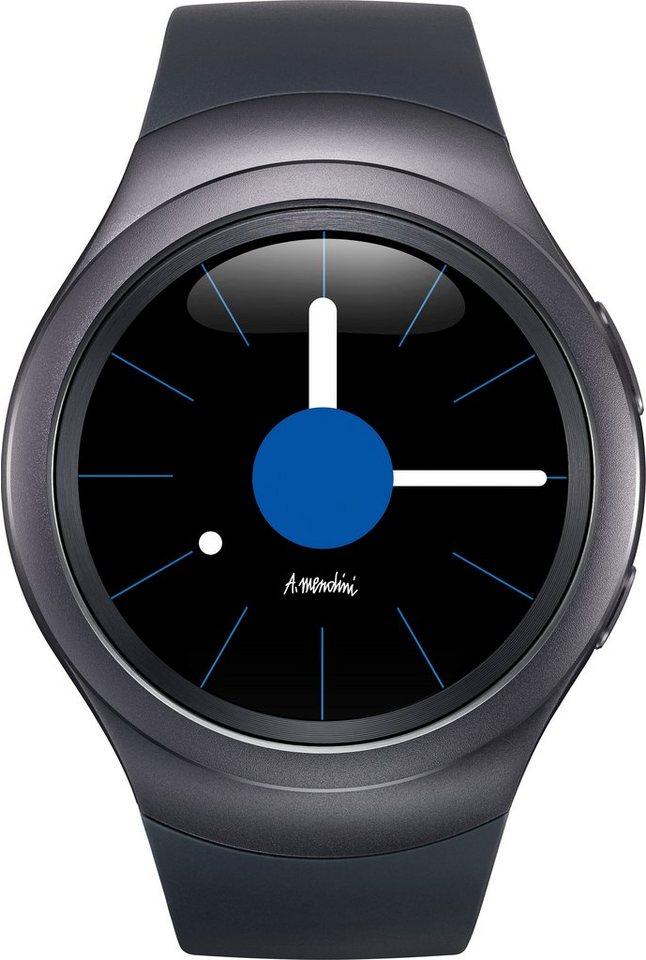Samsung Gear S2 Smartwatch, Tizen, 3,05 cm (1,2 Zoll) Super AMOLED-Touchscreen Display in Schwarz