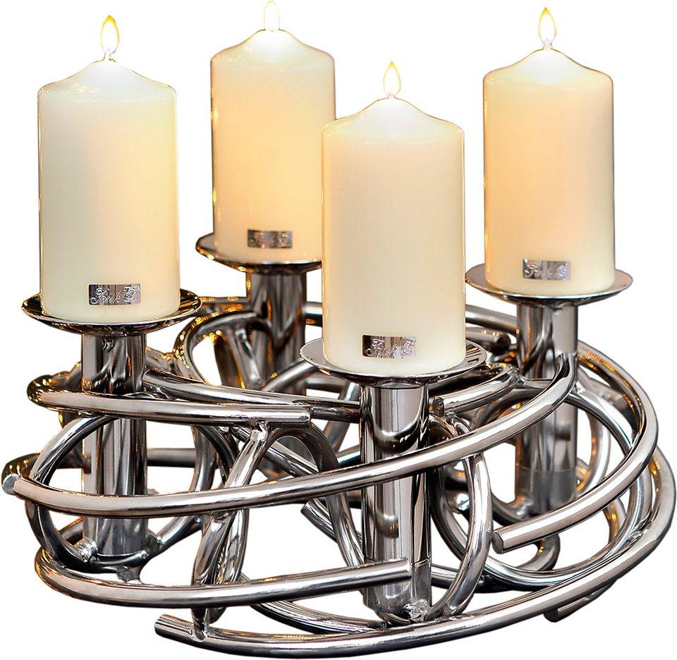 fink eleganter kerzenkranz corona 4 flammig otto. Black Bedroom Furniture Sets. Home Design Ideas
