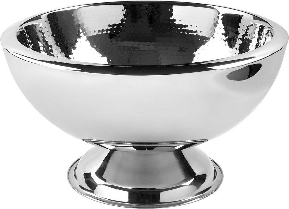 Fink Punchbowl, gehämmert in Silber
