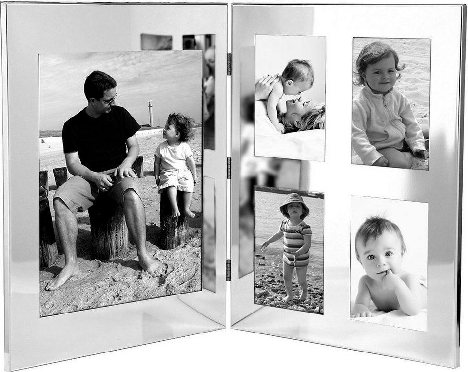 Fink Bilderrahmen für 5 Fotos in Silber