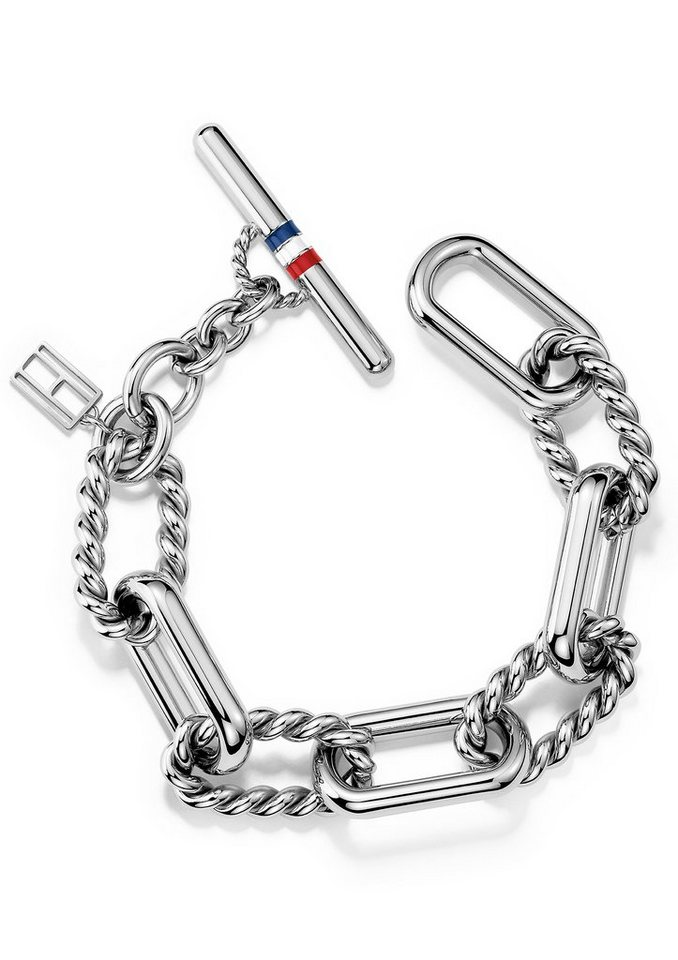 Tommy Hilfiger Armband, »Classic Signature, 2700738« in silberfarben