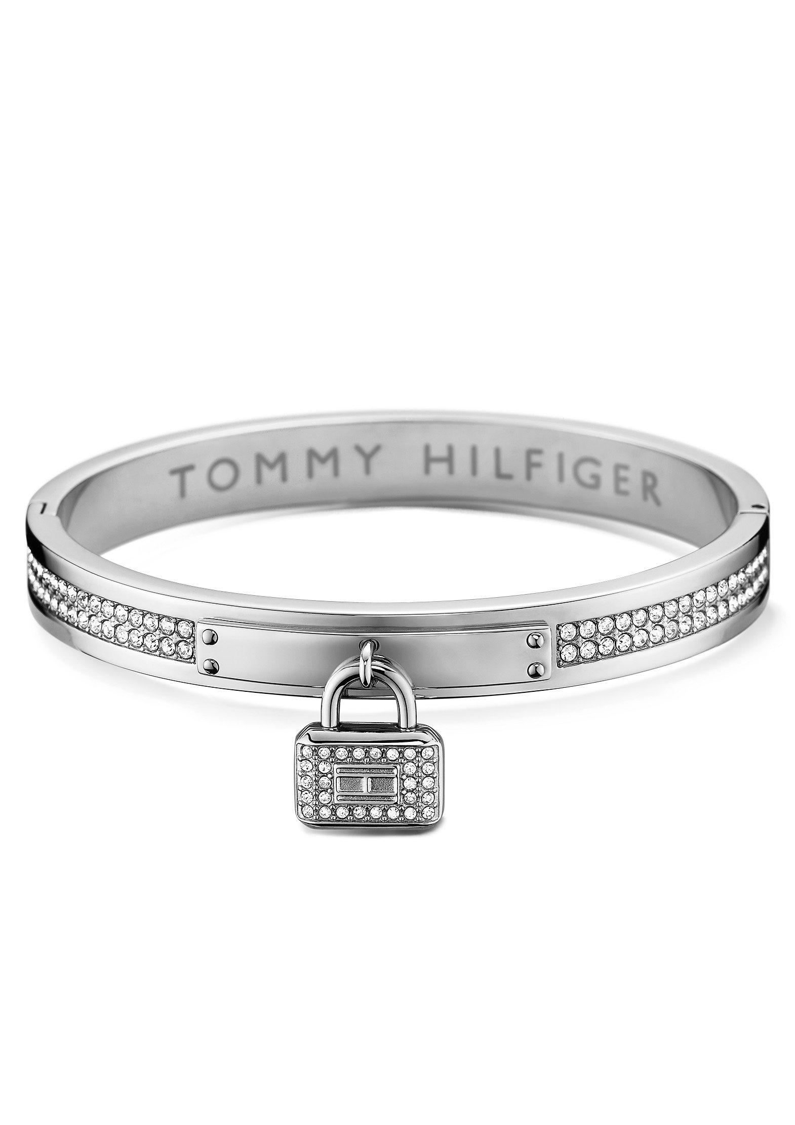 Tommy Hilfiger Armreif mit Schloss, »Classic Signature, 2700709«