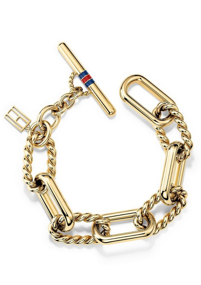 Tommy Hilfiger Armband, »Classic Signature, 2700739« in goldfarben