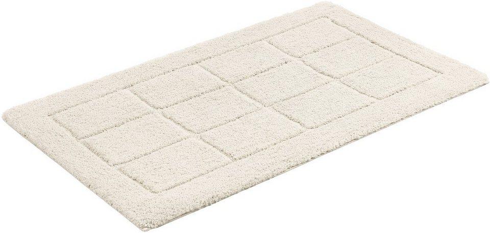 badematte sch ner wohnen santorin3 h he 22 mm microfaser rutschhemmender r cken online. Black Bedroom Furniture Sets. Home Design Ideas