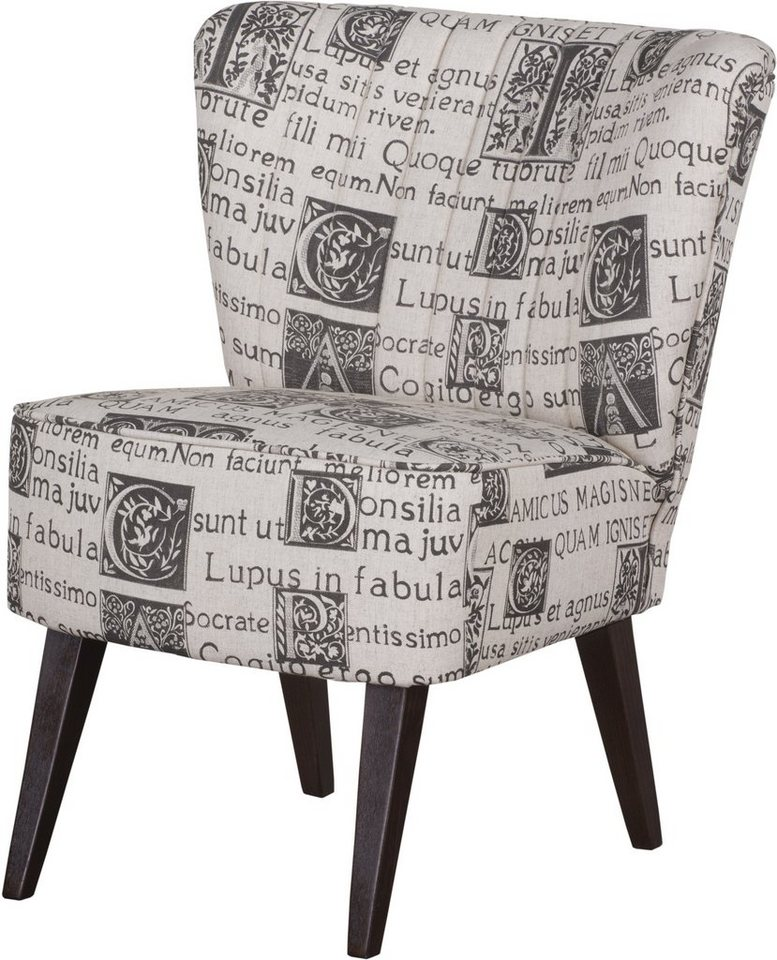 Home affaire Sessel »Campi« in beige