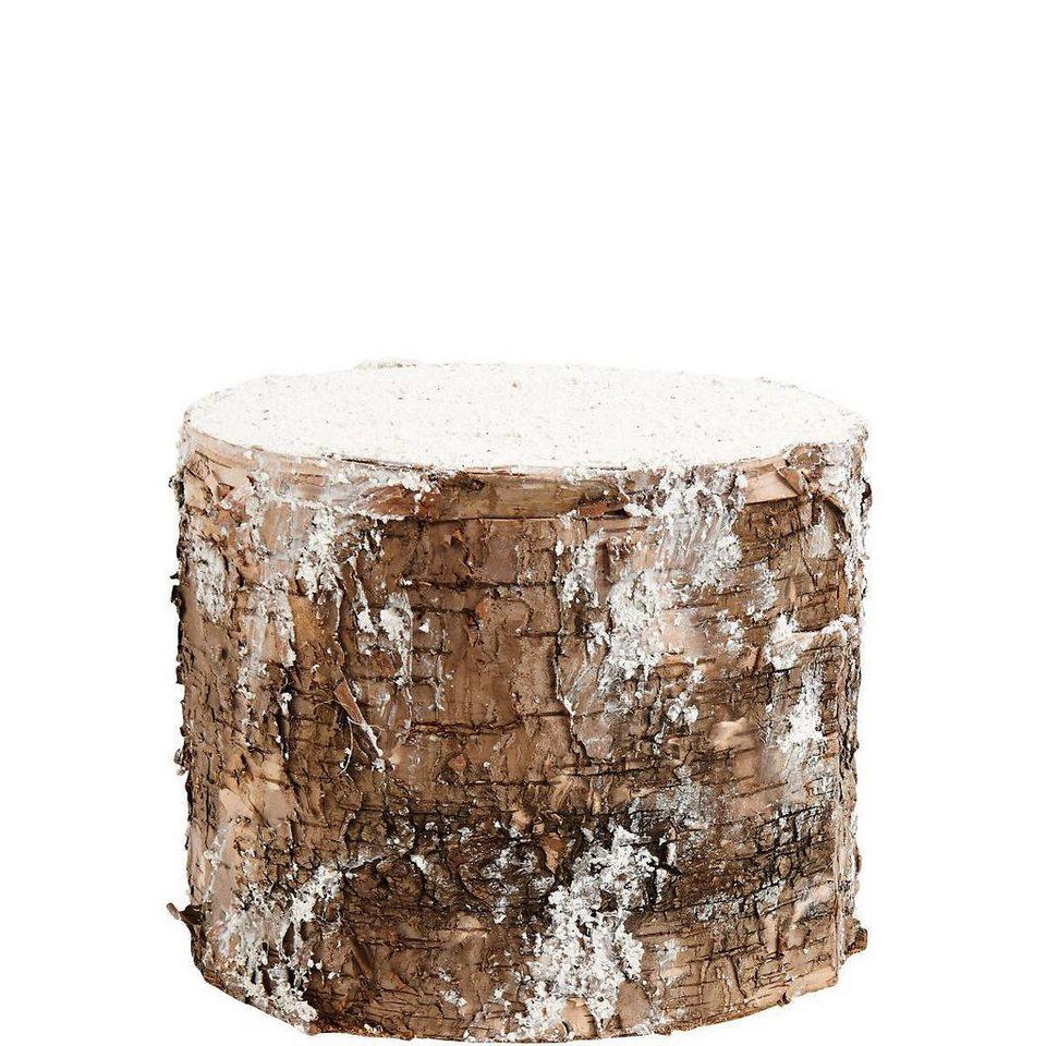 Butlers wintergreen baumstamm mit schnee kaufen otto - Baumstamm kaufen baumarkt ...