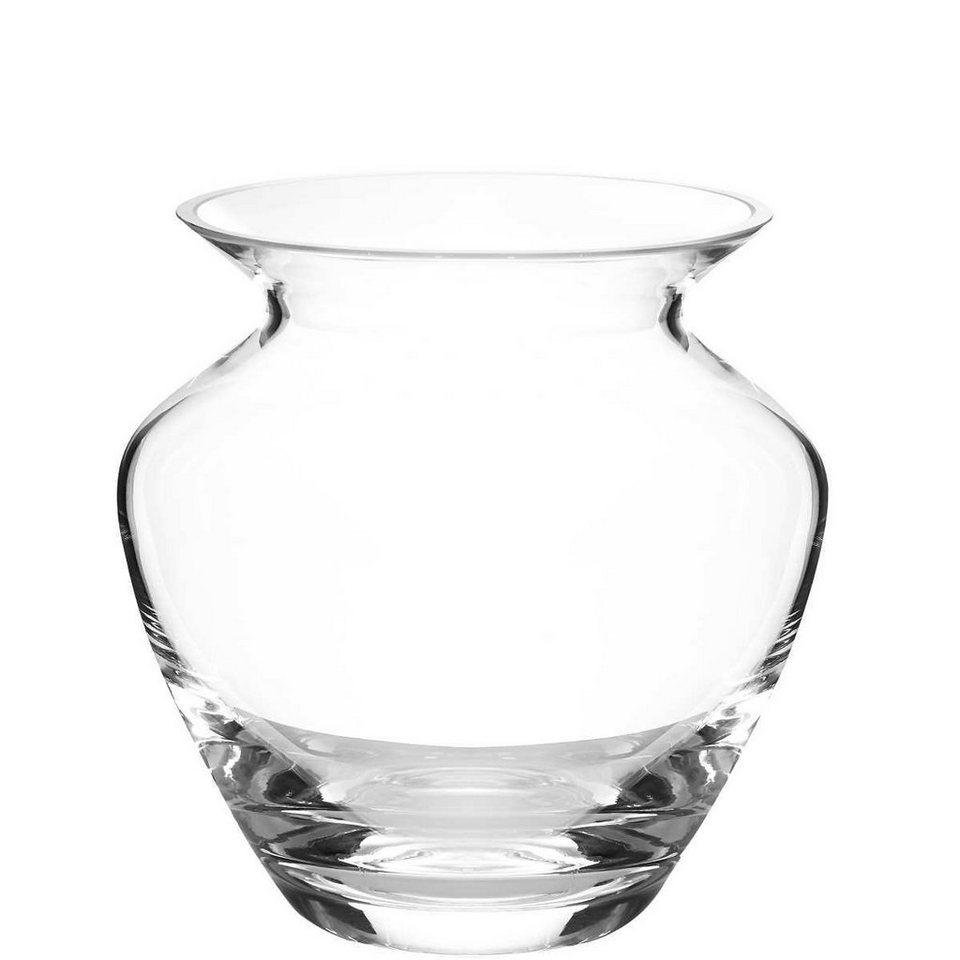 BUTLERS ALINA »bauchige Vase« in transparent