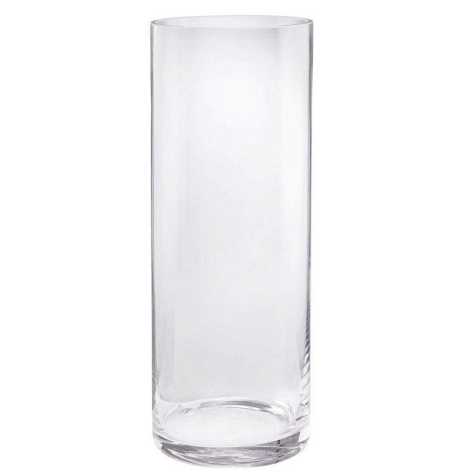 BUTLERS POOL »zylindrische Vase« in Transparent