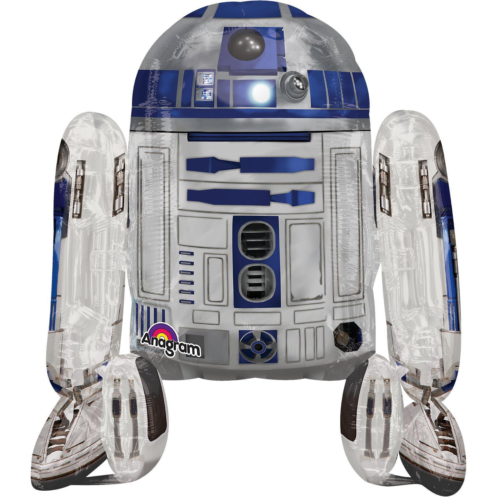 Amscan Folienballon AirWalker Star Wars R2D2
