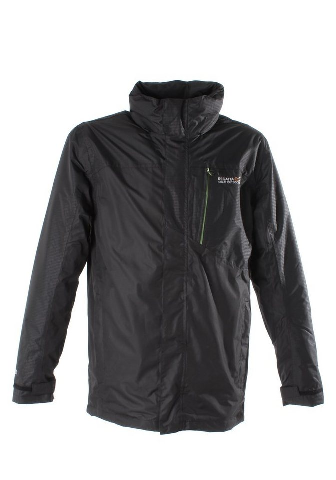 Regatta Doppeljacke »Whitehall 3in1« in black